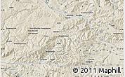 Shaded Relief Map of Çayağzı