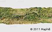 Satellite Panoramic Map of Çayağzı