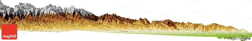 Physical Horizon Map of Xaçmaz