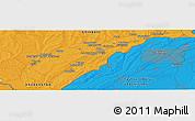 Political Panoramic Map of Saryagash