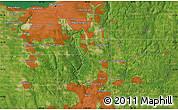 Satellite Map of Mount Pleasant