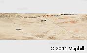 Satellite Panoramic Map of Luotuojing