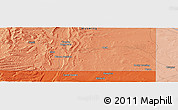 """Political Panoramic Map of the area around 41°43'14""""N,110°25'30""""W"""