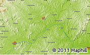 Physical Map of Chaoyang