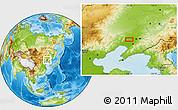 Physical Location Map of Panjiapu