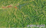 Satellite Map of Fushun