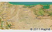 Satellite 3D Map of San Marco la Catola