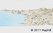 Shaded Relief Panoramic Map of Derjan