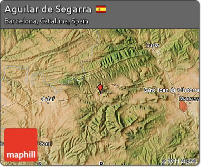 Free satellite map of aguilar de segarra for Piscina aguilar de segarra