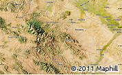 """Satellite Map of the area around 41°43'14""""N,1°37'30""""W"""