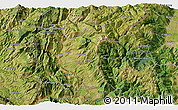Satellite 3D Map of Dohoshisht