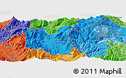 Political Panoramic Map of Dohoshisht