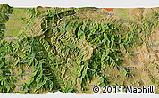 """Satellite 3D Map of the area around 41°43'14""""N,21°19'30""""E"""