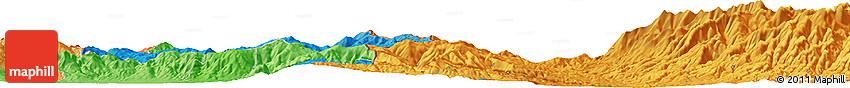 Political Horizon Map of Gradevo