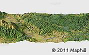 "Satellite Panoramic Map of the area around 41°43'14""N,23°52'30""E"