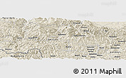 "Shaded Relief Panoramic Map of the area around 41° 43' 14"" N, 24° 43' 30"" E"