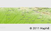 Physical Panoramic Map of Kırklareli