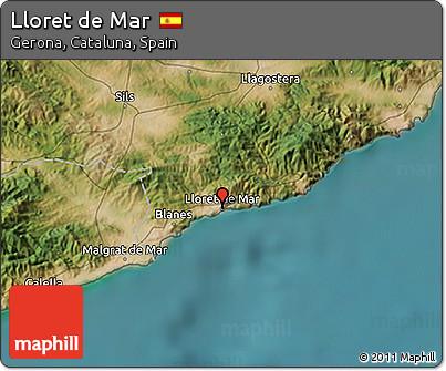 Free Satellite 3D Map of Lloret De Mar