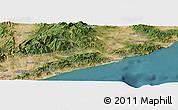 "Satellite Panoramic Map of the area around 41°43'14""N,2°37'30""E"