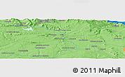 Political Panoramic Map of Vinuesa