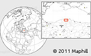 """Blank Location Map of the area around 41°43'14""""N,34°4'30""""E"""