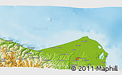 """Physical 3D Map of the area around 41°43'14""""N,35°46'29""""E"""