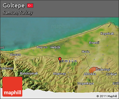 Free Satellite 3D Map of Gltepe