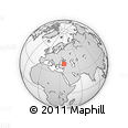 """Outline Map of the Area around 41° 43' 14"""" N, 35° 46' 29"""" E, rectangular outline"""
