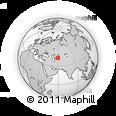 Outline Map of Ýylanly, rectangular outline