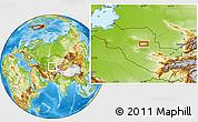 Physical Location Map of Murynkuduk