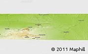 Physical Panoramic Map of Mullalykuduk