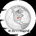 Outline Map of Stuart, rectangular outline