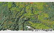 Satellite 3D Map of Mole Creek