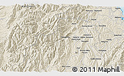 Shaded Relief 3D Map of Wakefield