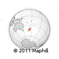 Outline Map of Mokihinui, rectangular outline