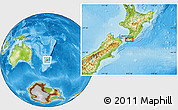 Physical Location Map of Kahutara