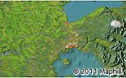 "Satellite Map of the area around 41°25'39""S,73°1'30""W"