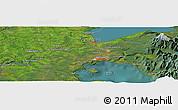 "Satellite Panoramic Map of the area around 41°25'39""S,73°1'30""W"