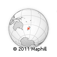 Outline Map of Westport, rectangular outline