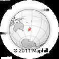 Outline Map of Murchison, rectangular outline