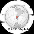 Outline Map of Cerro Mesa, rectangular outline