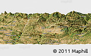 Satellite Panoramic Map of Tremp