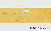 """Physical Panoramic Map of the area around 42°9'30""""N,101°13'29""""E"""