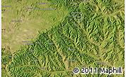 Satellite Map of Dongchanglinbadui