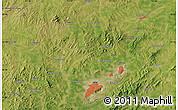 Satellite Map of Fuxin