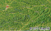 "Satellite Map of the area around 42°9'30""N,124°10'30""E"