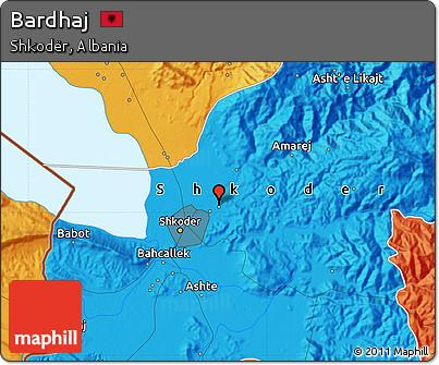 Political Map of Bardhaj