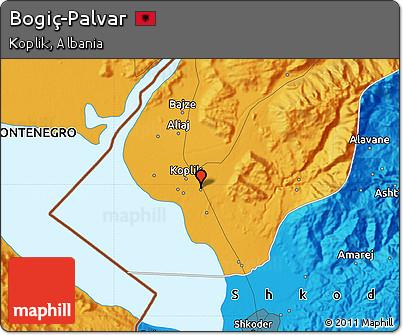 Political Map of Bogiç-Palvar
