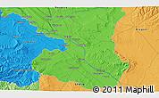 Political 3D Map of Murchante