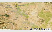 Satellite 3D Map of Murchante